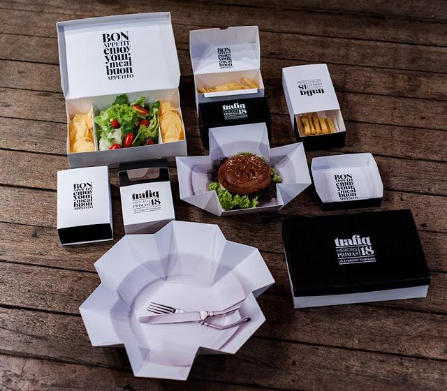Картонная упаковка для продуктов питания