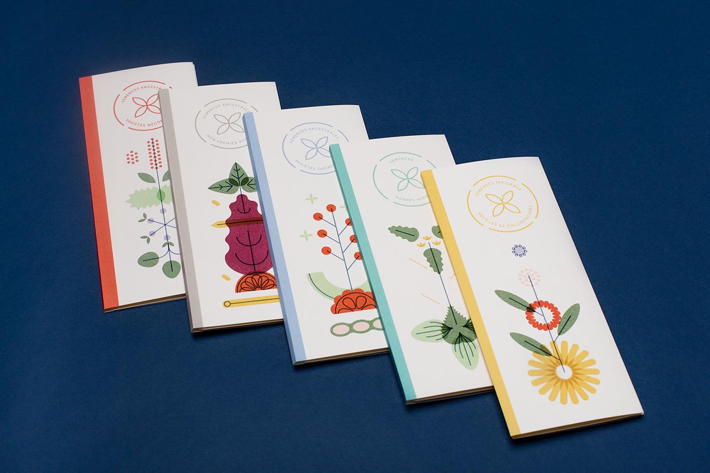 Картонная упаковка для семян