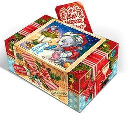 Новогодняя шкатулка для конфет
