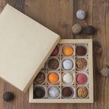 картонная тара с разделителями для конфет