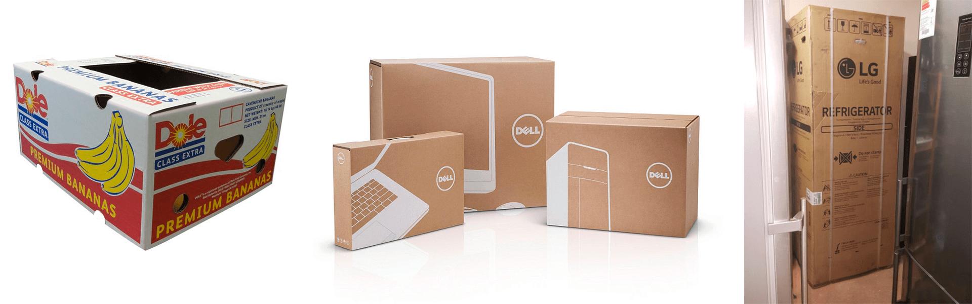 Фото - применение упаковки из картона