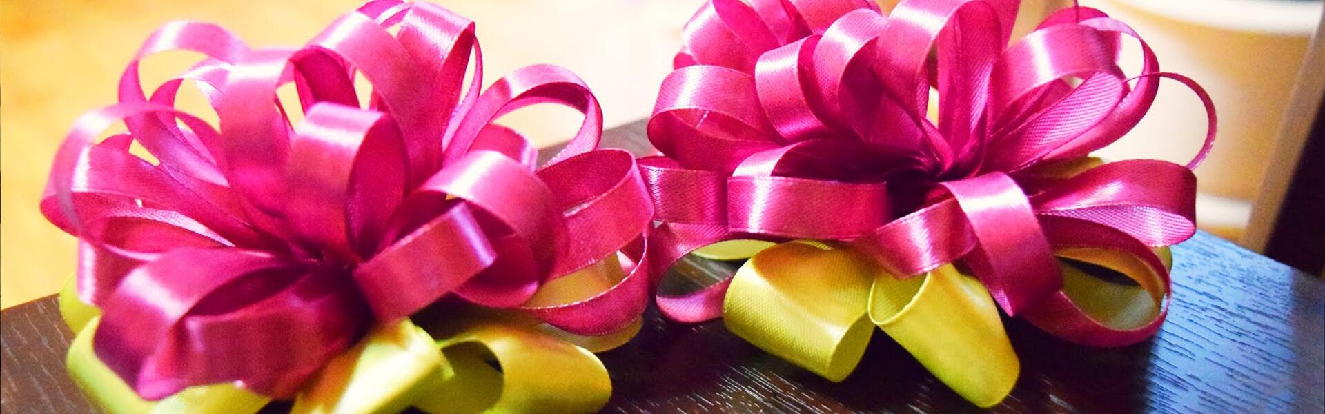 Фото - Банты для подарочных коробок