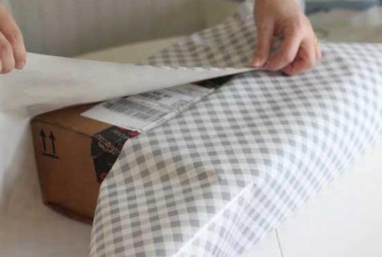 Фото - Упаковка коробки в подарочную обертку